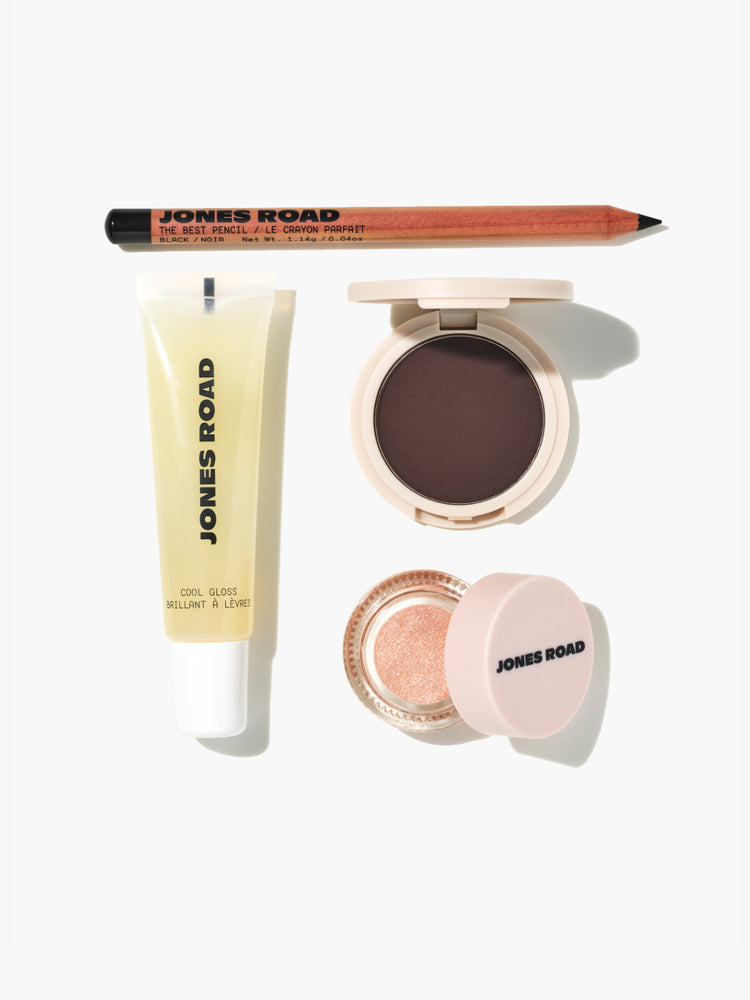 Jones Road startup kit with clean makeup products
