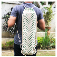 Load image into Gallery viewer, Masu Jute Yoga Backpack