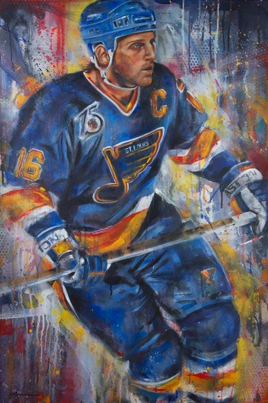 "Brett Hull ""The Golden Brett"""