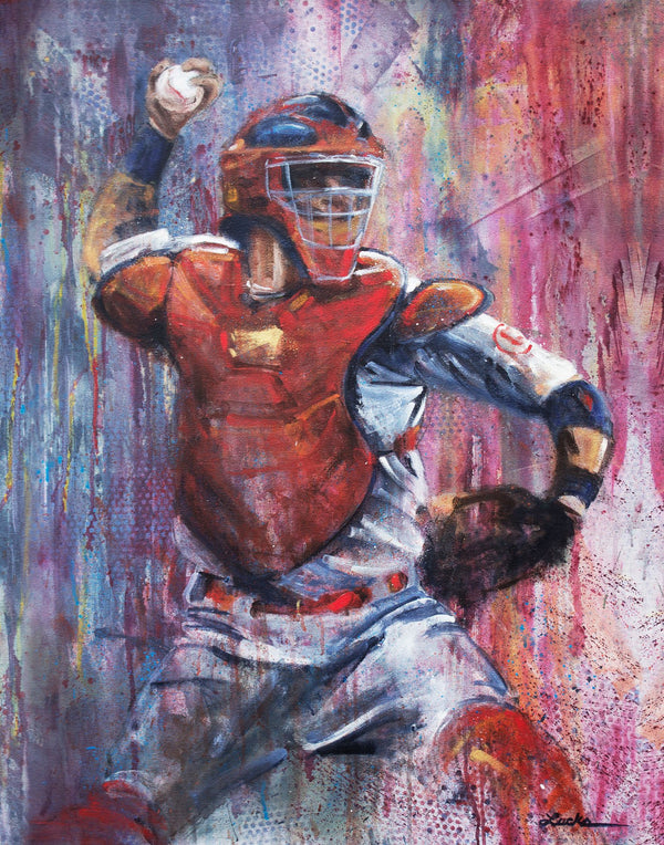 "Yadier Molina ""A Threat Behind Home"""