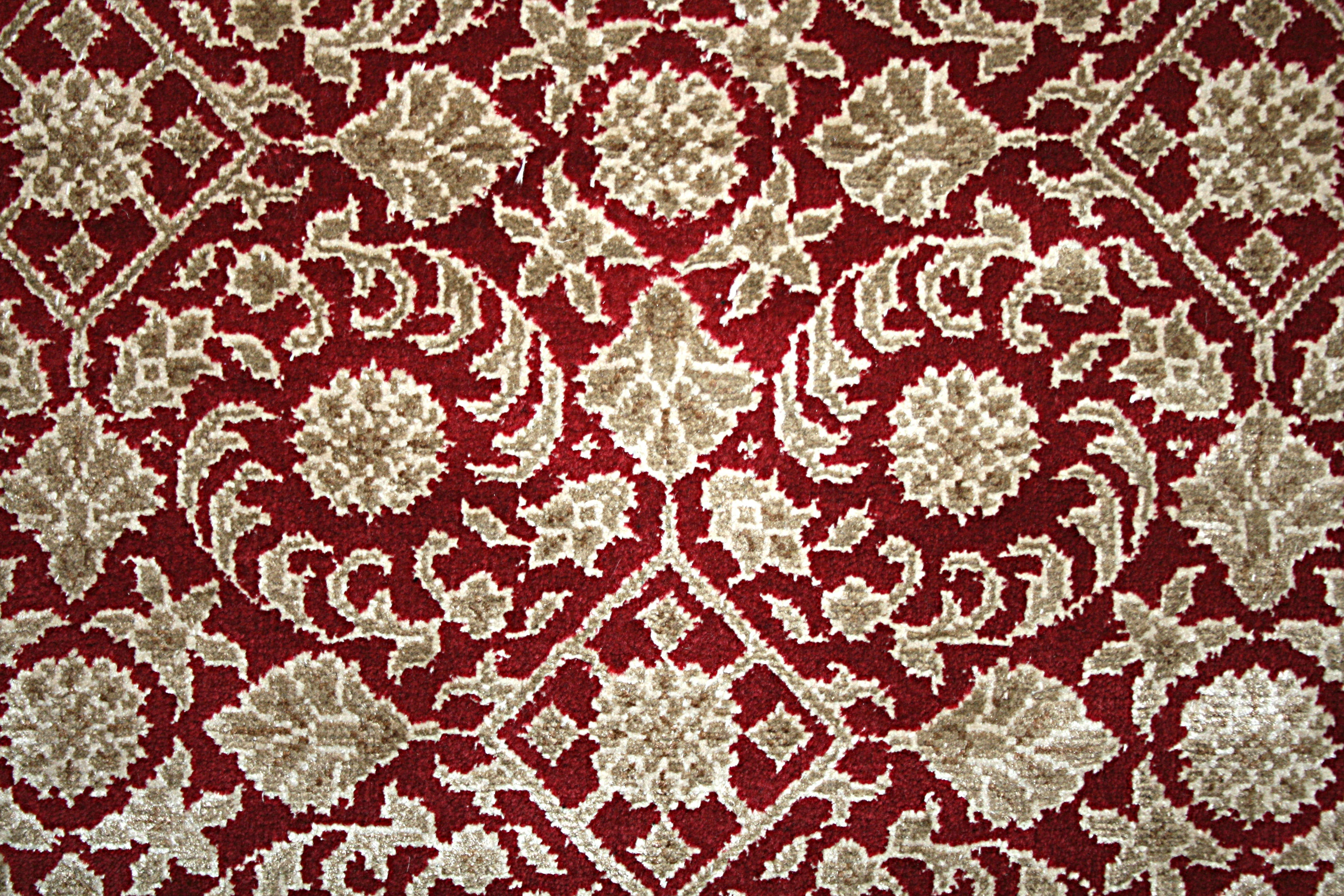 Herati Wool Silk Red/Cream - MyHome24.shop