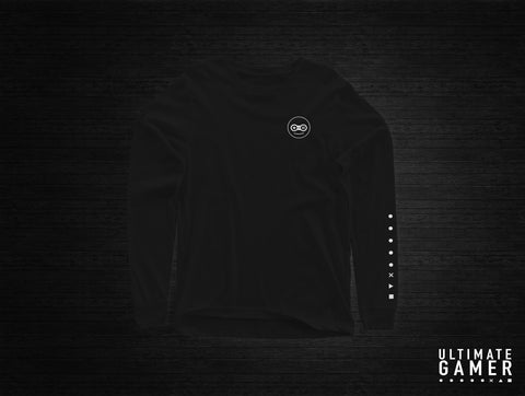 The Ultimate Gamer Long-Sleeve Shirt (Black)