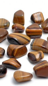 Tigers Eye tumbled stones