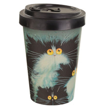 Load image into Gallery viewer, Kim Haskins Meet the Purrents Travel Mug