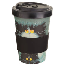 Load image into Gallery viewer, Kim Haskins Meet The Purrents Travel Mug.