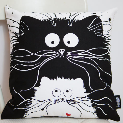 Kim Haskins You're Purrfect Cushion Cover.