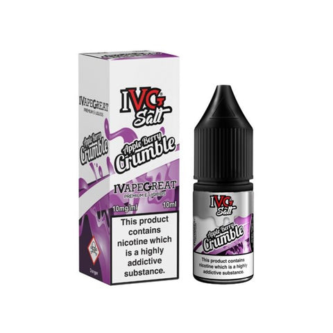 IVG APPLE BERRY CRUMBLE