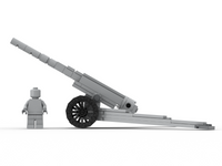 WW1 155mm French Howitzer - Build Kit