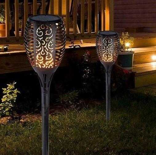 7 Pack - Waterproof Solar Torch Light - SPW Mart