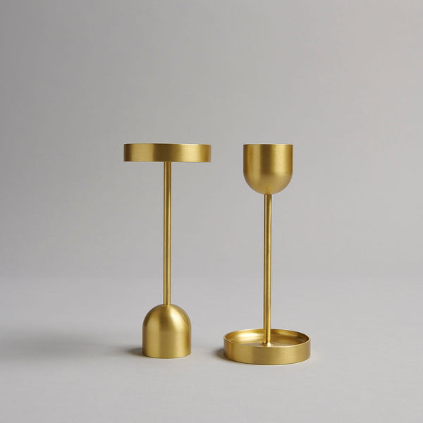 Brass Candle Holder Large