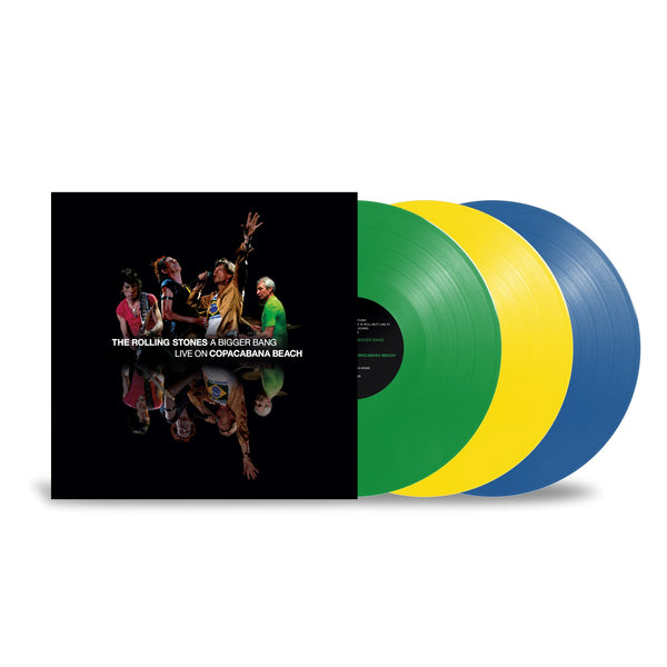 A BIGGER BANG - LIVE ON COPACABANA BEACH - 3 vinyles couleur