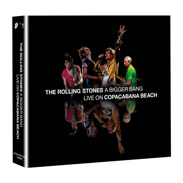 A BIGGER BANG - LIVE ON COPACABANA BEACH - SD BLU-RAY + 2 CD