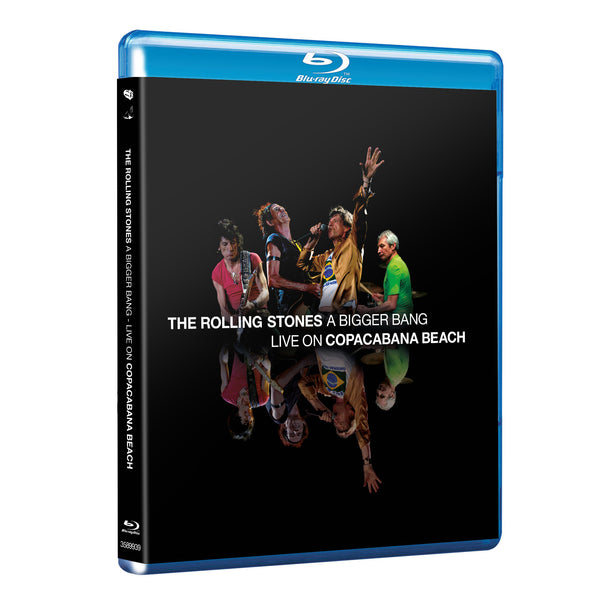 A BIGGER BANG - LIVE ON COPACABANA BEACH - SD BLU-RAY