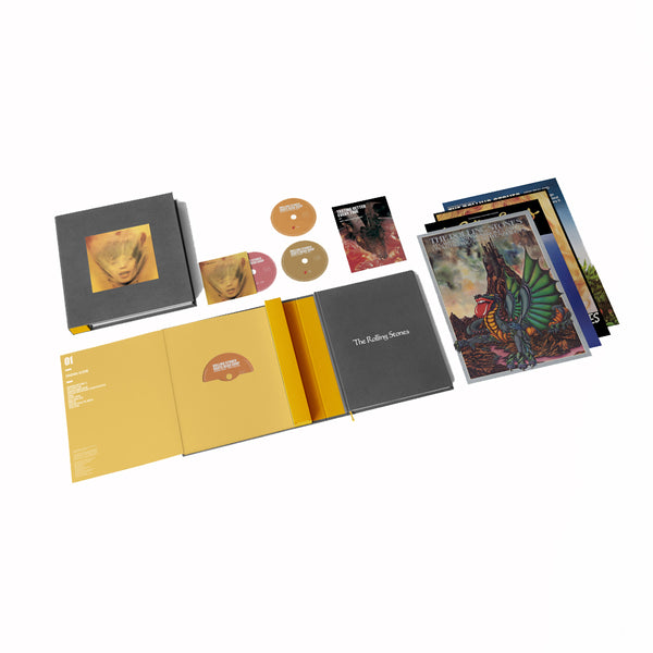 GOATS HEAD SOUP - BOX 4 CD Super Deluxe