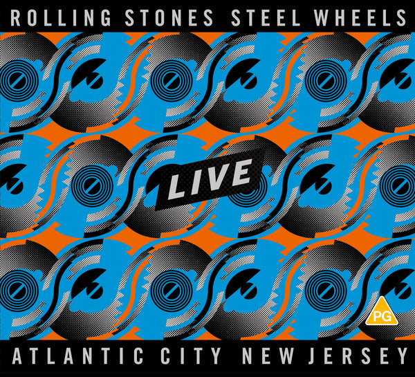 Steel Wheels Live - 2CD+DVD