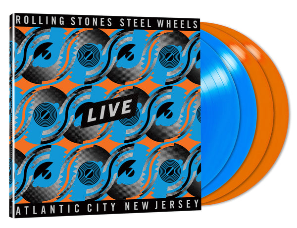 Steel Wheels Live - 4 vinyles couleur