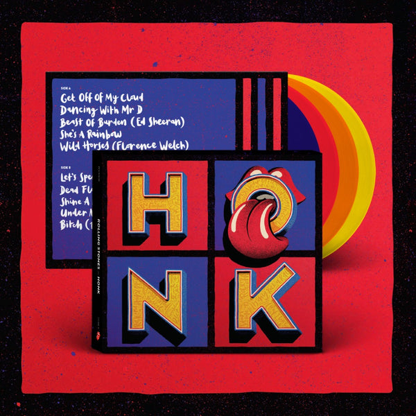 HONK - BOX 4 VINYLES COULEUR
