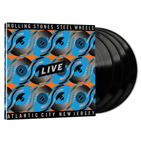 Steel Wheels Live - 4 vinyles standards
