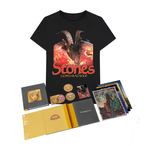 GOATS HEAD SOUP - BOX 4 CD Super Deluxe et Tee-shirt