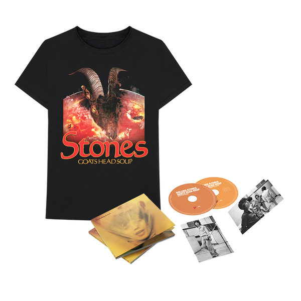 GOATS HEAD SOUP - 2 CD DELUXE ET TEE-SHIRT
