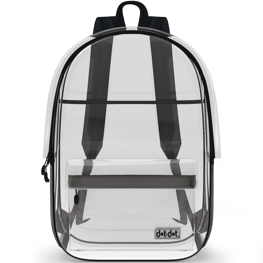 c7367620fc Clear Backpack – dot dot Travel Series