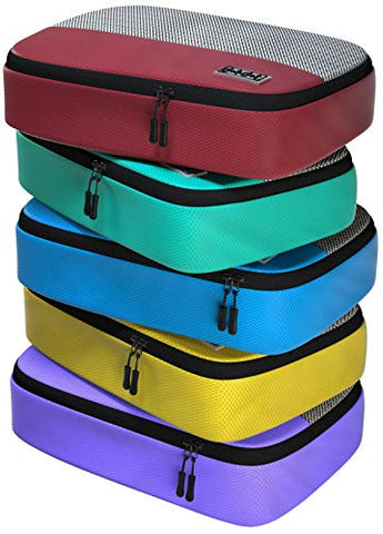 5pc Set of Medium Packing Cubes