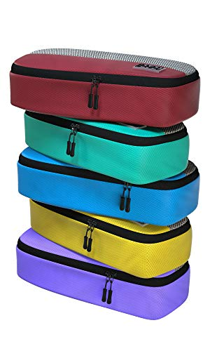 5pc Set of Slim Packing Cubes