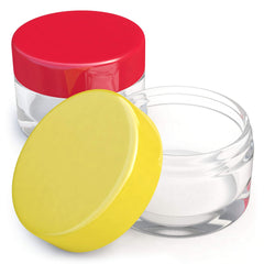 Small Acrylic Travel Jars