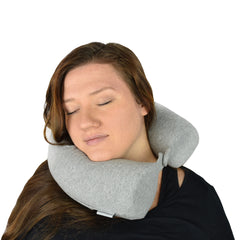 Twist Memory Foam Travel Pillow