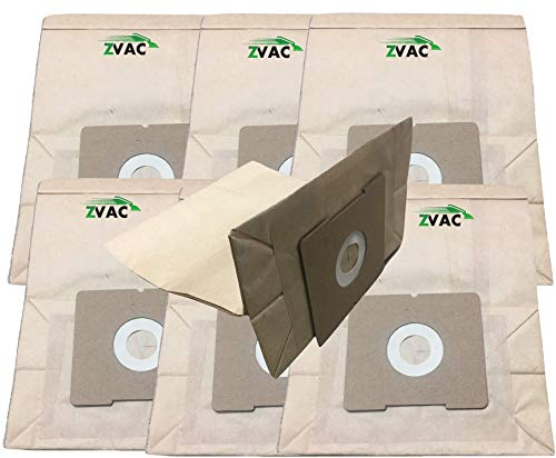 ZVac 7Pk Compatible Bissell Zing Vacuum Bags Replacement for 4122, 2138425, 213-8425 Bissell Zing Bags