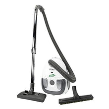 Load image into Gallery viewer, ZVac Canister Vacuum Cleaner Prima - HEPA Filtration 2 L Tank Capacity - 1200 W Powerful Motor - Compact Lightweight with 6 FT Hose & Telescopic Wand - Carpet & Floor Brushes - Bagged Vacuum Cleaner