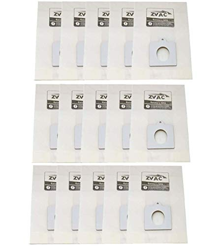Zvac Replacement Kenmore Ultra Care Vacuum Bags Compatible with Kenmore Series 20-50403, 50403, 20-50410, 50410, 29430, 29435, 29459, 24975, 24981, 24991-15 Pack in A Bag