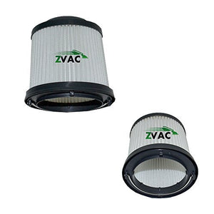 ZVac Replacement for Black and Decker Filters Compatible with Part # 90552433-01 and Fits with Pvg110 Black Vacuum Model - 2 Pack in A Bag