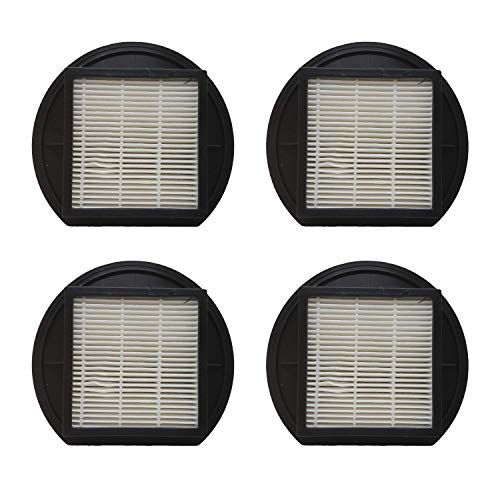 Zvac Replacement Dirt Devil F27 Hepa Filter Compatible with Dirt Devil Part # F-27, 1-Ly2108-000 Fits Dirt Devil Upright Vacuums - 4 Pack in A Bag