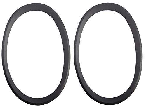 ZVac Replacement Vacuum Belts - Hoover Style WT Flat - Replaces Parts #40201160, 38528033 & Style 160- Compatible with Hoover Windtunnel Upright Vacuum Cleaners - 2 Pack