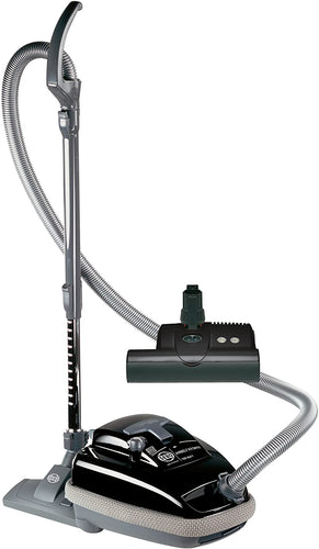 SEBO 9688AM Airbelt K3 Canister Vacuum with ET-1 Powerhead and Parquet Brush, Black - Corded : ZVac