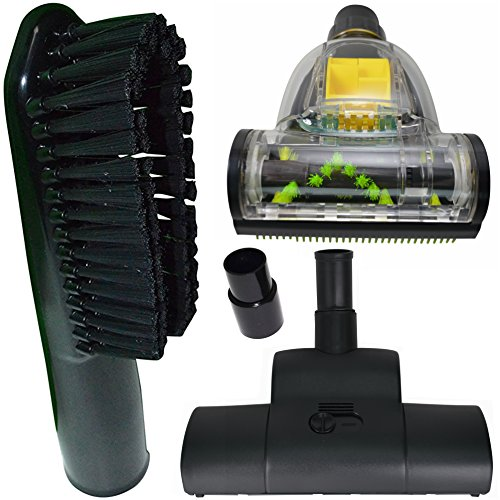 ZVac Replacement Miele Vacuum Accessories Compatible Premium Attachments Fits All Miele Vacuums Includes A Miele Vacuum Brush Attachment for Rugs + Stairs + Universal Dusting Brush