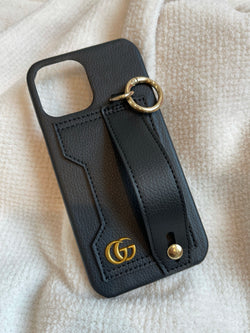 VINTAGE CARD & HANDLE CASE (BLACK)