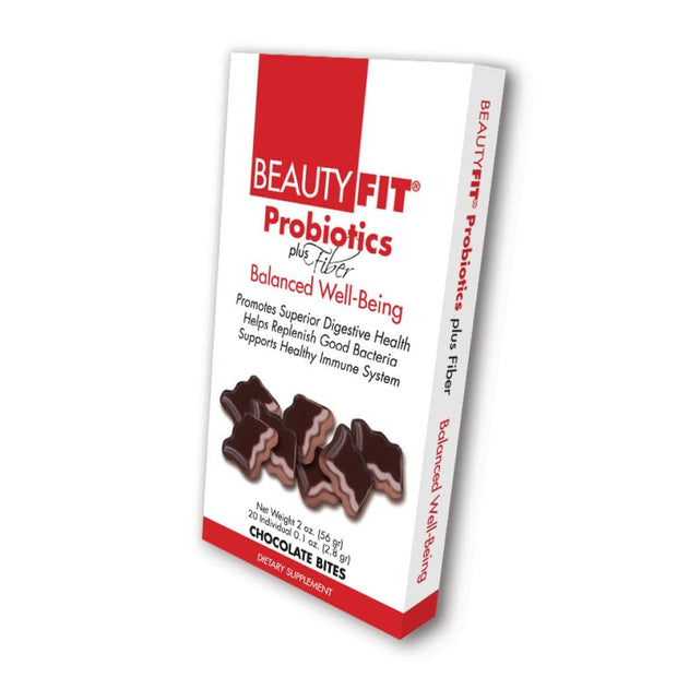 Box of Probiotics Plus Fiber chocolate bites for Women (56grams)