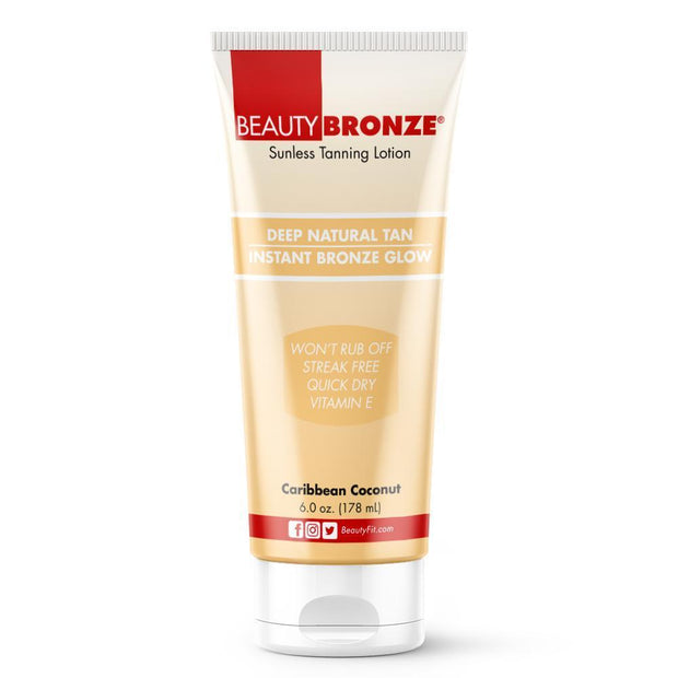 Tube of Beauty-Bronze® Deep Natural Tan Moisturizes Your Skin (178ml)