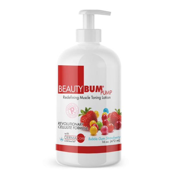 Pump of Beauty-Bum® anti-cellulite cream for women Utilizes stored fat for energy (472ml)