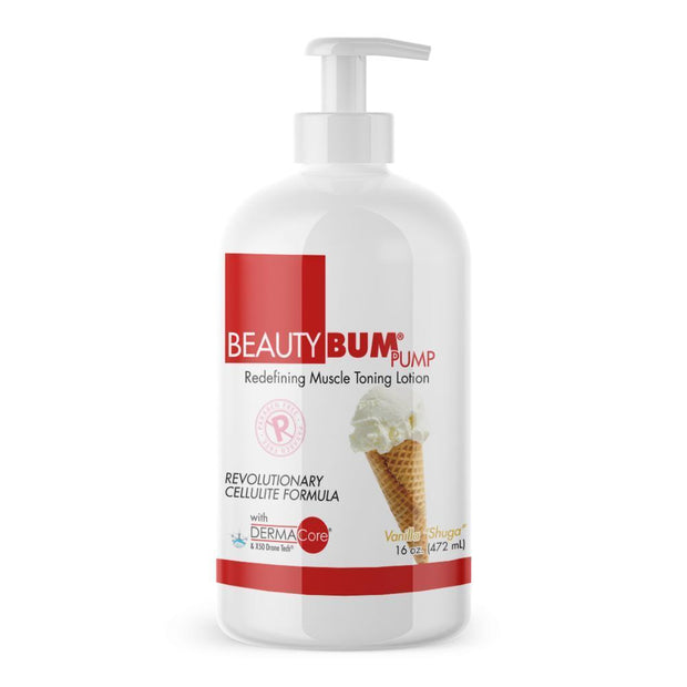 Pump of Beauty-Bum® anti-cellulite cream for women Simply apply the toning lotion once or twice a day (472ml)