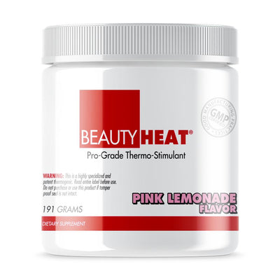 "Tube of Beauty-Heat® Fat Burner ""Makes you Sweat"" for Women (191grams) Pink Lemonade Flavor"