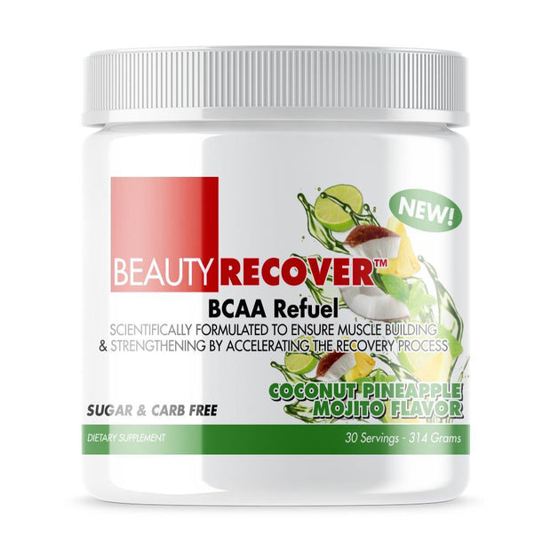 Tube of Beauty-Recover® BCAA For Women (300grams) Coconut Pineapple Mojito Flavor