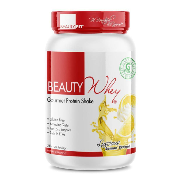 Tube of Beauty-Whey® Women Protein Powder Shake (2lbs) Lemon