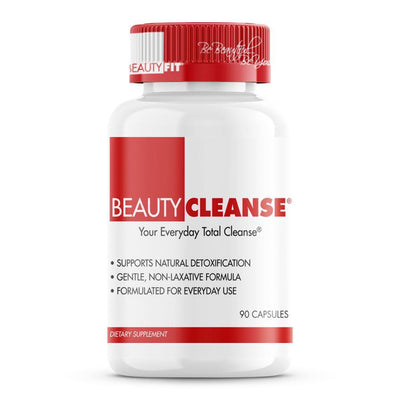 Bottle of Beauty-Cleanse®  herbal detox cleanse for Women (90capsules)