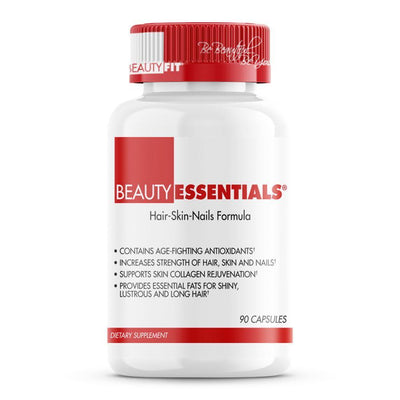 Bottle of Beauty-Essentials® Healthy And Strong Hair Skin And Nails for Women (90 capsules)