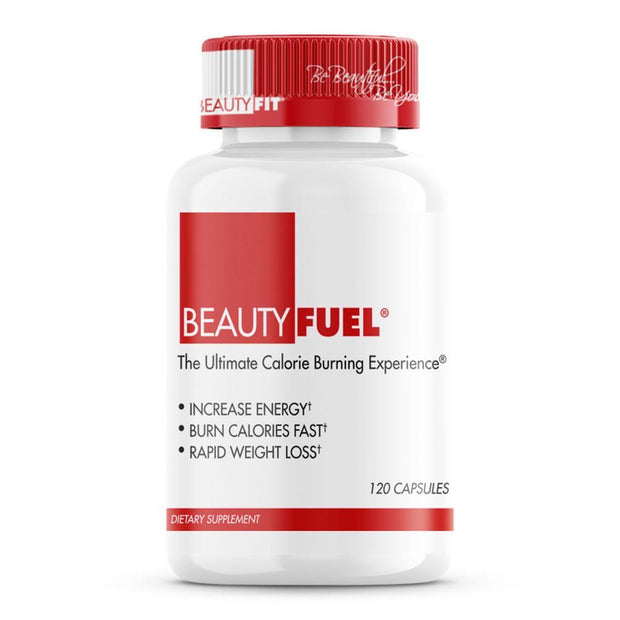Bottle of  Beauty-Fuel® Rapid Weight Loss pills for Women (120capsules)
