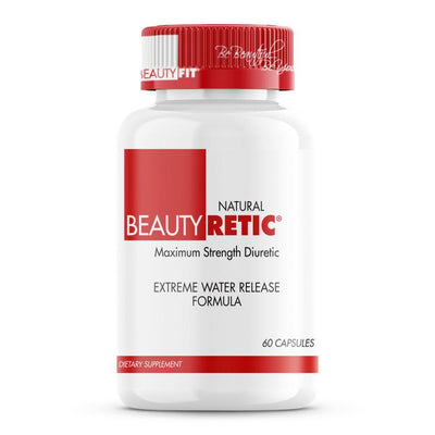 Bottle of Beauty-Retic® Diuretic Formula For Women (60capsules)