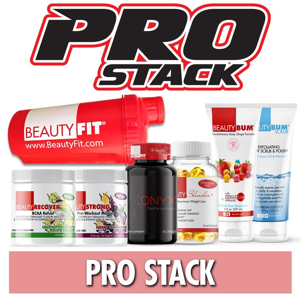 Pro Stack women's training supplements